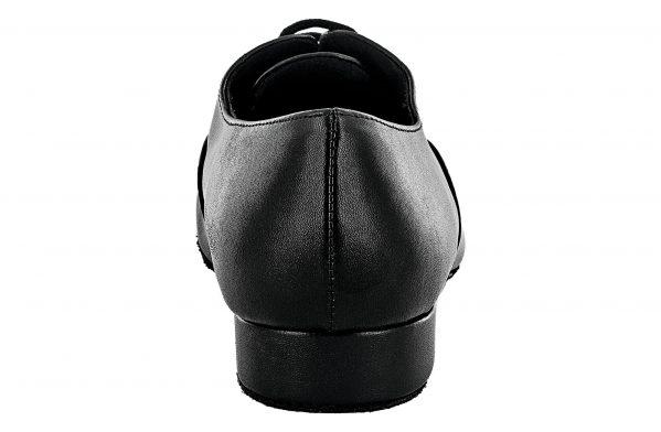 Scarpa Da Ballo Bambino Modello Oxford Colore Nero Tacco 2,5 Cm Back