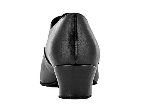 Scarpa Da Ballo Bambino Modello Oxford Colore Nero Tacco 3 5 Cm Back