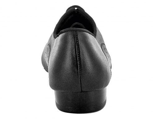 Scarpa Da Ballo Uomo Standard Doppia Suola Colore Nero Tacco 2 5 Cm Back