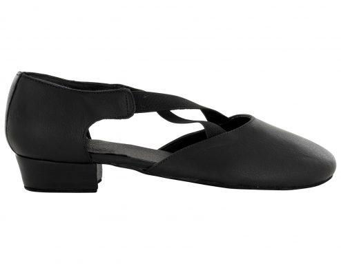 Scarpa Danza Insegnate Colore Nero Tacco 2 5 Cm