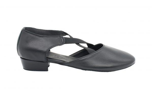 Scarpa Danza Insegnate Colore Nero Tacco 2 5 Cm Right