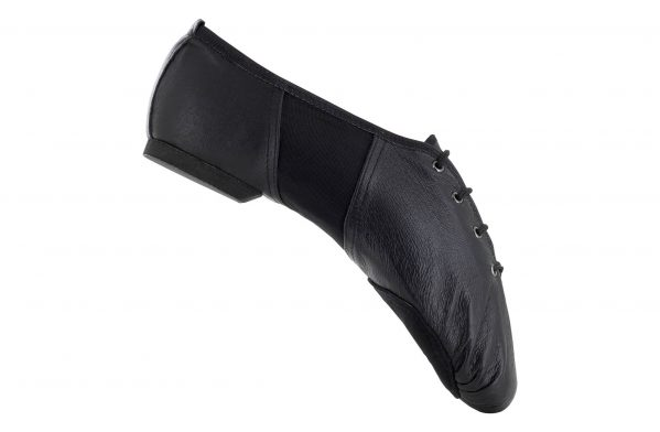 Jd1 Scarpa Da Jazz Danc In In Pelle Nera Doppia Suola Right 1
