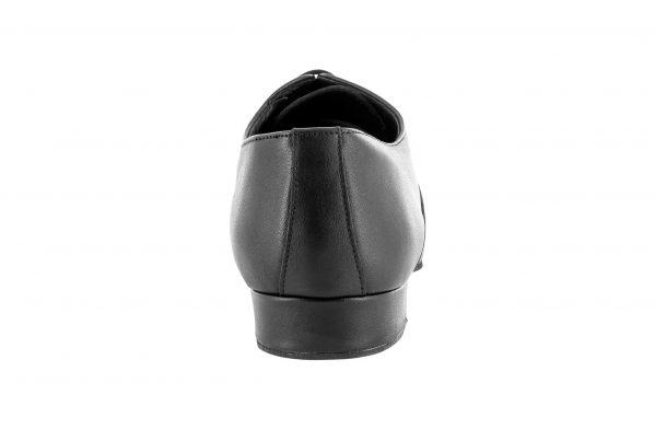 Scarpa Da Ballo Uomo Modello Oxford In Pelle Nero Suola Drs Tc 2 5 Cm Back