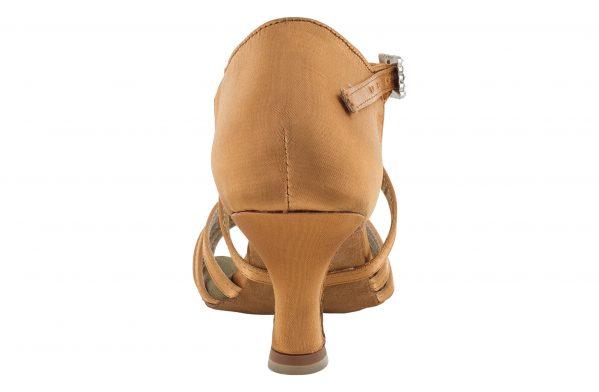 Scarpa Da Ballo 5 Fasce In Raso Flesh Con Incrocio Sulla Caviglia Tacco 5 5 Cm Back