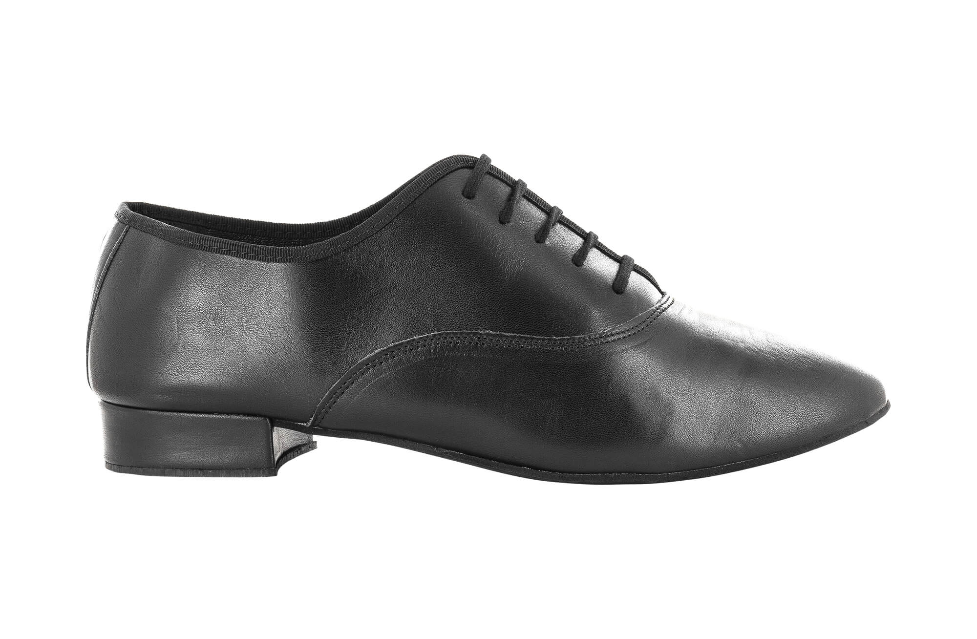 brand new 8ee26 2a6c1 dancing shoes for men oxford jazz in black leather with laces heel 2,5 cm -  Dancin scarpe da ballo