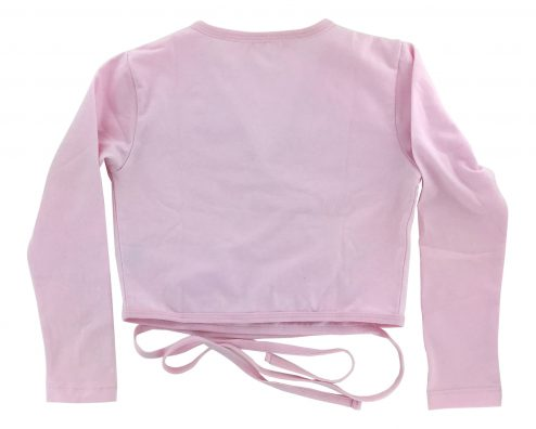 Scaldacuore Danza Classica A Maniche Lunghe Colore Rosa Retro