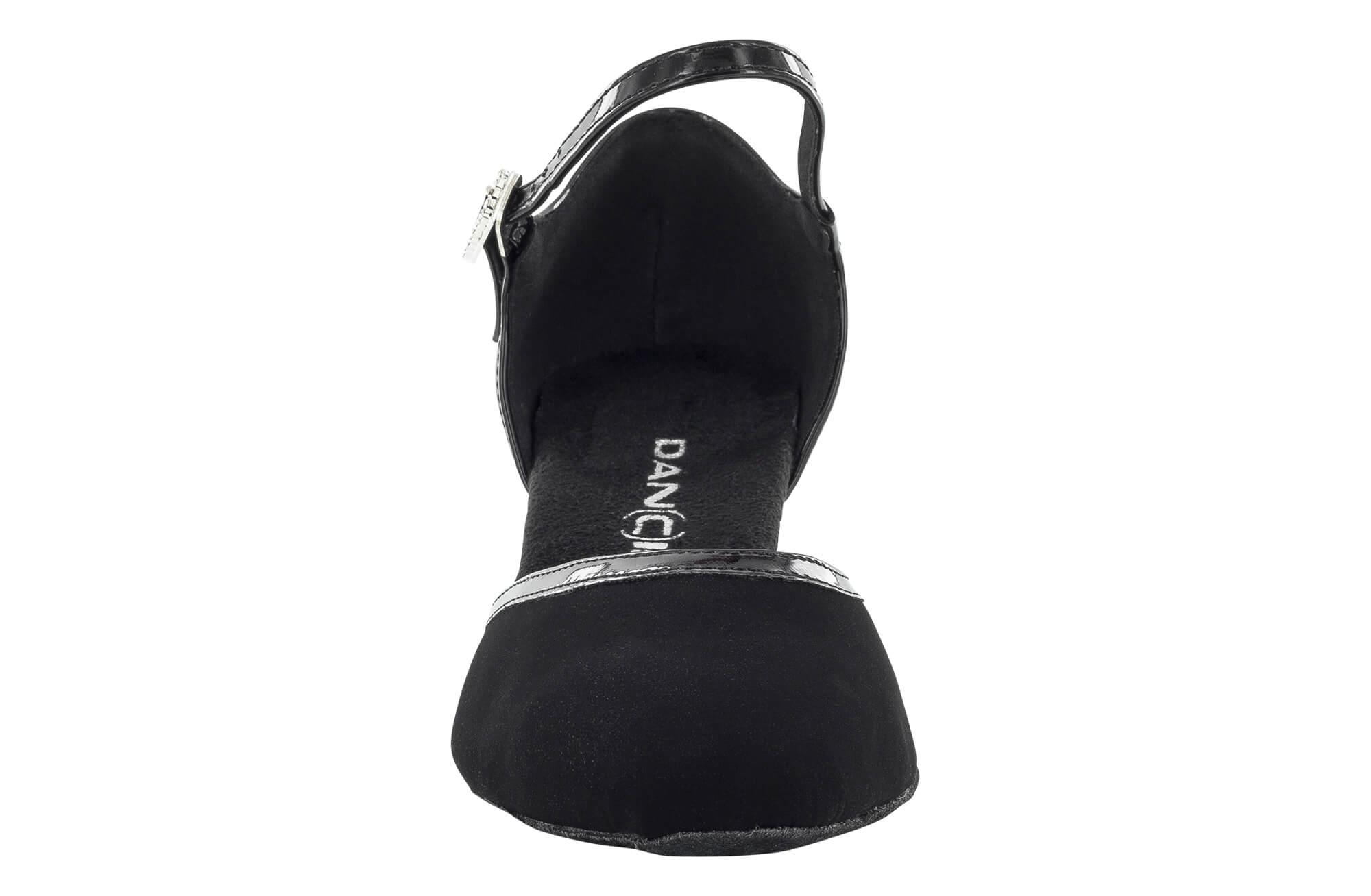 Scarpe Da Ballo Donna Punta Chiusa Tacco 5 Cm Front