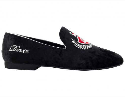 Mocassino Da Ballo Uomo Limited Edition Con Stemma Dancin Ricamato Tc 15 Comright